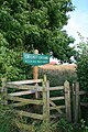 Seasonal Kissing Gate - geograph.org.uk - 899277.jpg
