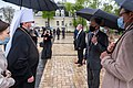 Secretary Blinken Participates in a Donbas Conflict Memorial Flower Laying With Ukrainian Foreign Minister Dmytro Kuleba and Metropolitan Epiphaniy (51170050557).jpg