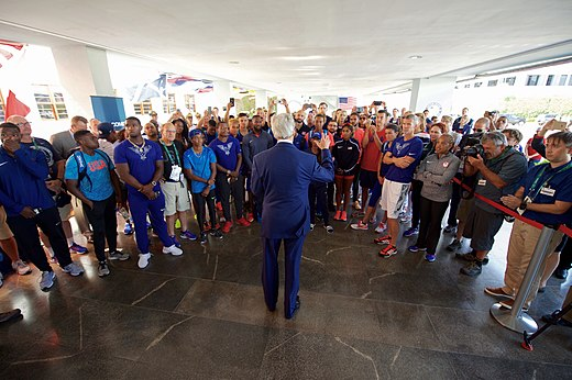 Secretary Kerry addresses members of Team USA in Rio de Janeiro (28172684403).jpg