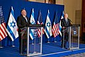 Secretary Pompeo Delivers Joint Statements with Israeli Prime Minister Netanyahu (50621696797).jpg
