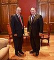 Secretary Pompeo Poses for a Photo With Mexican Foreign Secretary- Designate Ebrard (30494216617).jpg