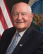 Secretary Sonny Perdue official photo (cropped).jpg