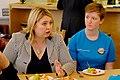 Secretary of State Karen Bradley visits the Belfast Youth Forum (42811538764).jpg