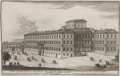 Segue l'altra veduta per fianco del Palazzo Barberino verso la piazza dell'ecc. sig. Prencipe di Pellestrina by Alessandro Specchi (1699).png