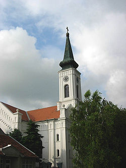 The Evangelical church, built in 1870