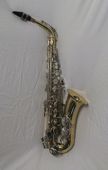 English: A Selmer Bundy II Alto Saxophone. By ...