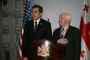 Senator McCain Visits Batumi 2010