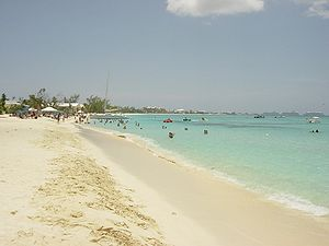 Seven Mile Beach - Grand Cayman island
