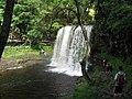 Sgwd yr Eira (waterfall) - geograph.org.uk - 1445223.jpg