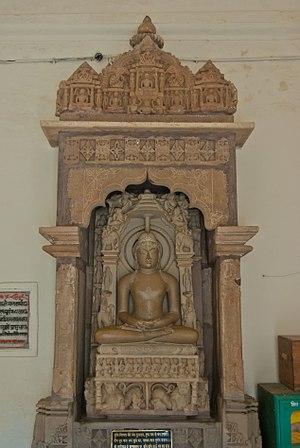 Shantinatha temple, Khajuraho - Image: Shantinath Jain Temple Khajuraho 05