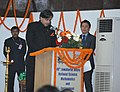 Shashi Tharoor addressing the inaugural function of the National Education Day celebrations and the inauguration of 40th Jawaharlal Nehru National Science Mathematics and Environment Exhibition for Children 2013.jpg