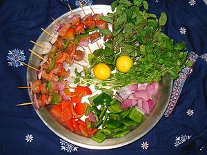 Pakistan–Turkey relations - Shashlik, a common Eurasian dish.