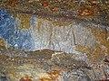 Shatterconed sandstone (Mississagi Formation, Paleoproterozoic, ~2.3-2.4 Ga; Ramsey Lake Road outcrop, Sudbury, Ontario, Canada) 1 (40800830493).jpg