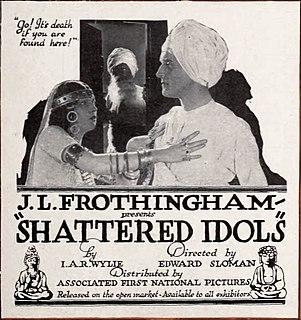 <i>Shattered Idols</i> 1922 film directed by Edward Sloman