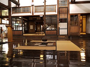 Japanese-Western Eclectic Architecture - Image: Shayokan Indoor 1