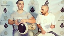 File:Shik Shak Shok - Belly Dancer & Arabic Sombaty Plus Darbuka ,Bandir and Sagat.webm