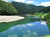 Shimanto River And Iwama Bridge 1.jpg