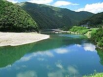 Shimanto River And Iwama Bridge 1.jpg