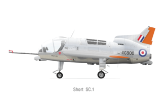 Serial code - The RAF serial (XG900) on the Short SC.1