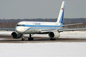 Siberia Airlines Tupolev Tu-204-100 Pichugin 29march2005.jpg