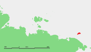 Location of Wrangel Island