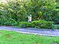 Sidewalk and Stele of Former 6th Cemetery, Shilin District, Taipei 20131010.JPG