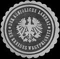 Siegelmarke Der K. Landrat des Kreises Westprignitz W0393778.jpg
