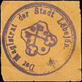 Siegelmarke Der Magistrat der Stadt Löbejün W0393653.jpg