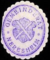 Siegelmarke Gemeinderat - Neresheim W0229258.jpg