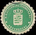 Siegelmarke H.S. Altenburg. Standesamt Frohnsdorf W0350320.jpg
