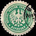 Siegelmarke Königl. Preuss. Oberförsterei Bovenden W0314560.jpg