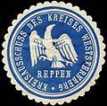 Siegelmarke Kreisausschuss des Kreises Weststernberg - Reppen W0262638.jpg