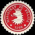 Siegelmarke Magistrat zu Pölitz W0204805.jpg