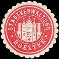 Siegelmarke Stadtverwaltung - Hoexter W0226553.jpg