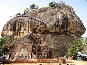 Sigiriya - The Lion Gate and Climbing Stretch