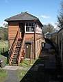 Signal box, west of Staverton, on the South Devon Railway - geograph.org.uk - 1252681.jpg