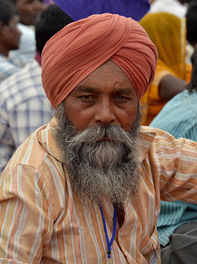 File Sikh Man Agra 06 Jpg Wikimedia Commons