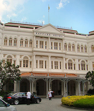 Raffles Hotel Singapore Pictures on Information Navn Raffles Hotel Adresse Singapore Bygget 1887