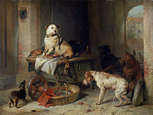 Sir Edwin Landseer - A Jack In Office.jpg