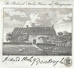 Sir Richard Steele's House at Llangunnor