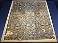 Siria, frammento di tessuto con scene di caccia, in seta, 790-810 dc ca (ascoli, museo diocesano) 01.jpg