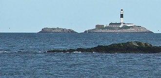 Skerries, Dublin - Skerries Lighthouse on Rockabill island