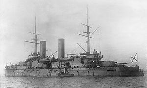 Russian battleship Slava - Image: Slava cuirasse russe