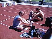 Slm borna 2006 balzer und blaschek nach rennen