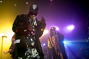 Sly and the Family Stone - Sly Stone performing with the Family Stone in 2007.