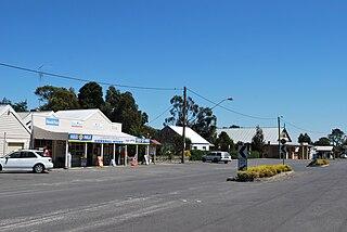 Snake Valley, Victoria Town in Victoria, Australia