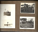 Snapshots of men and aircraft at Camp Mohawk, one of the Royal Flying Corps' pilot training camps near Deseronto, Ontario. Includes one of an aircraft nose-down in the water of the Bay of Quinte, with (6079350603).jpg