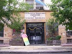 Facultad de ciencias sociales universidad de buenos aires for Hoteles en marcelo t de alvear buenos aires