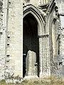 Soissons (02), abbaye Saint-Jean-des-Vignes, abbatiale, début du bas-côté nord 2.jpg
