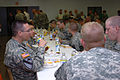 "Soldiers of the 615th ""Cold Steel"" Aviation Support Battalion, 1st Air Cavalry Brigade, 1st Cavalry Division, were treated to some food at the Veteran's of Foreign Wa DVIDS128497.jpg"